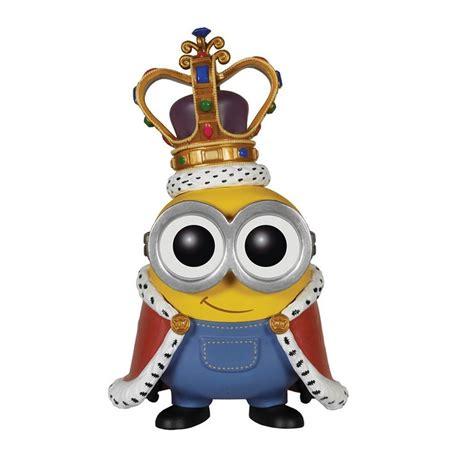 Pop Minions King Bob Vinyl Figure funko pop minions king bob