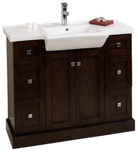 Modern Bathroom Vanity Base Only Modern Birch Wood Veneer Vanity Base Only Walnut 38 Quot X14