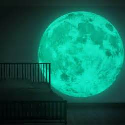 fl1079 xxxl world glow in the dark moon 3d wall mural artist creates hidden bedroom murals using glowing uv paints