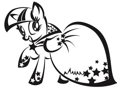 My Little Pony Twilight Sparkle Coloring Pages Coloring Home Twilight Coloring Pages To Print