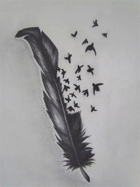 feather birds tattoo ideas and feather birds tattoo