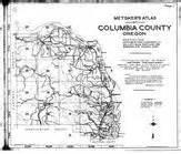 columbia county 1928 oregon historical atlas
