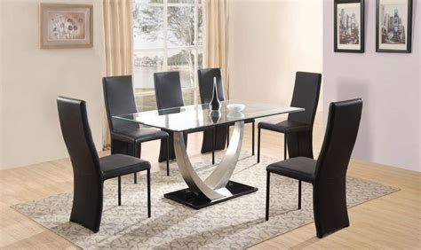 cheap dining table and 6 chairs 20 cheap glass dining tables and 6 chairs dining room ideas
