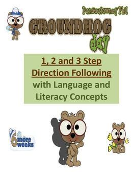 groundhog day that step groundhog day 1 to 3 step direction following with langua