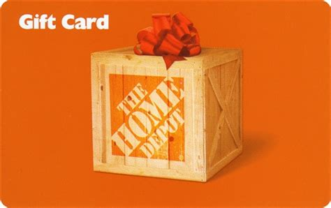 Homedepot Gift Card - study names top five brands in digital gifting