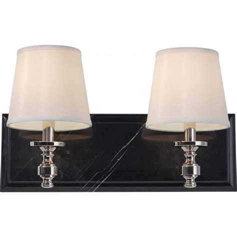 Vanity Light Shades Feiss Two Light Polished Nickel Eggshell Shantung Fabric Shade Vanity Vs34002 Pn