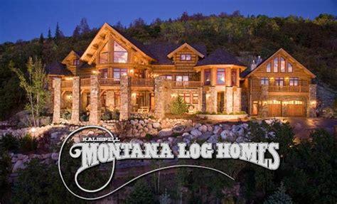 montana log homes flathead guide