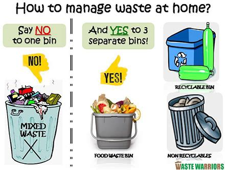how to manage your home waste vespa
