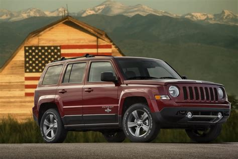 Jeep Wrangler Patriot Edition 2014 Jeep Patriot Freedom Edition Announced Autoevolution