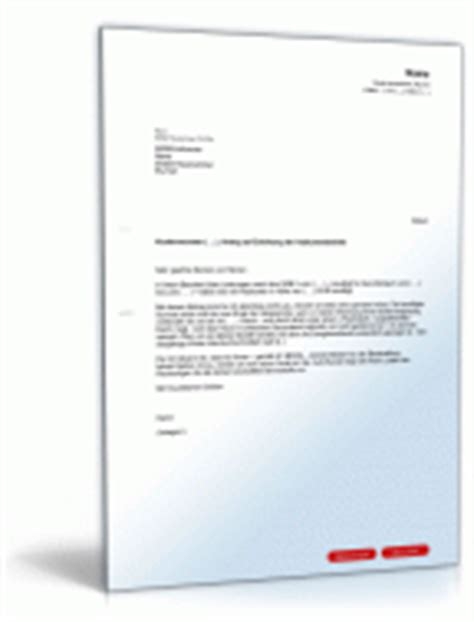 Antrag Mehrbedarf Vorlage Musterbriefe 196 Mter Beh 246 Rden Vorlagen Zum