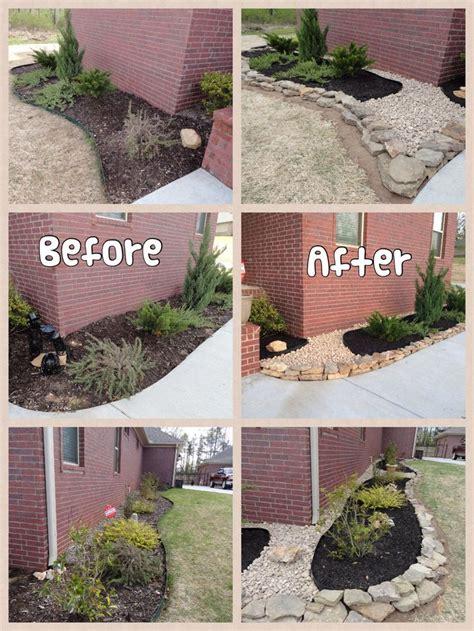 black landscaping best 25 black mulch ideas on black rock