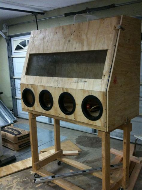 blast cabinet build instructions   sandblasting