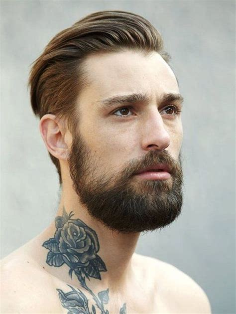 guys with beards and tattoos beards and tattoos quotes quotesgram