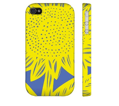 Indocustomcase Botanical Flower Apple Iphone 7 Or 8 Cover ries yellow blue iphone 4 4s apple phone flowers