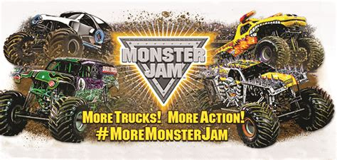 monster truck jam cleveland enter to win a family 4 pack of tickets to monsterjam