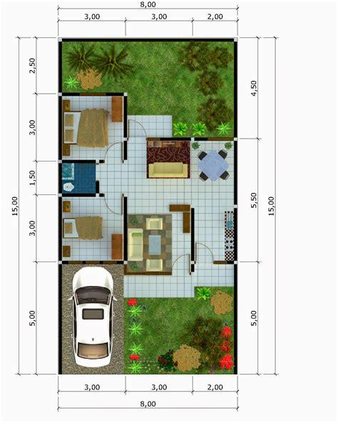 desain gambar denah rumah gambar desain denah rumah minimalis type 54 terbaru 2015