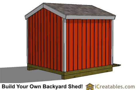 how to build a simple shed simple 8x8 shed plans
