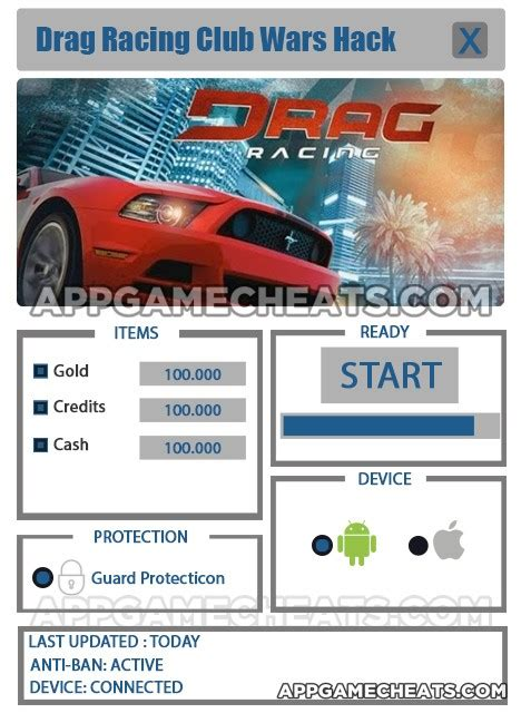 mod game drag racing club wars drag racing club wars hack for gold mods features of