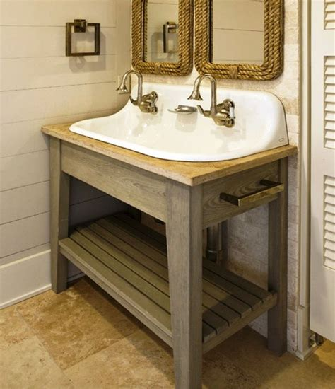 17 best ideas about trough sink on rustic