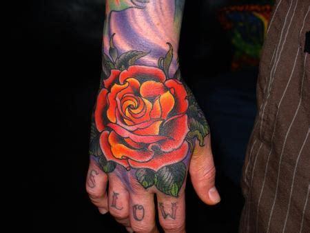 tattoo hand new school paradise tattoo gathering tattoos jim miner new