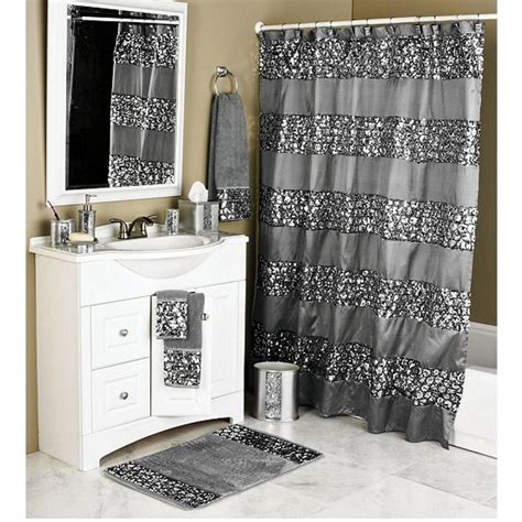 Bathroom Shower Curtains And Matching Accessories Pmcshop Bathroom Shower Curtains And Matching Accessories