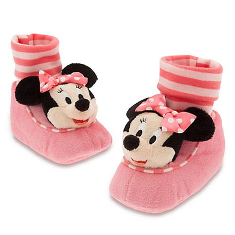 minnie mouse house shoes for toddlers minnie mouse plush slippers for baby slippers disney store