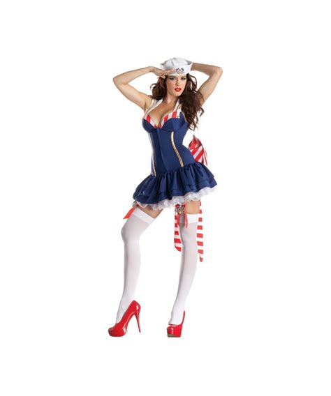 Zombie Party Decorations Sailor Pin Up Body Shaper Costume Women Costume