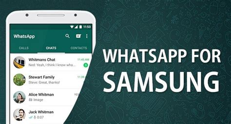 whatsapp for samsung mobile discover the update for whatsapp on samsung