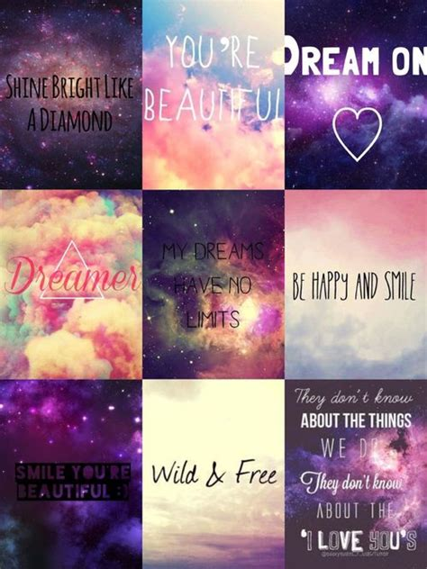 galaxy wallpaper tumblr quotes iphone colorful galaxy quotes tumblr page 2 pics about space