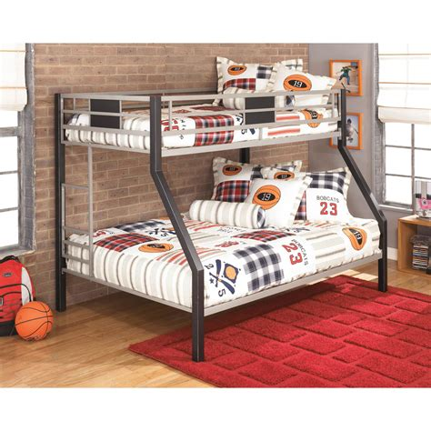 ashley furniture bunk beds signature design by ashley dinsmore twin full metal bunk