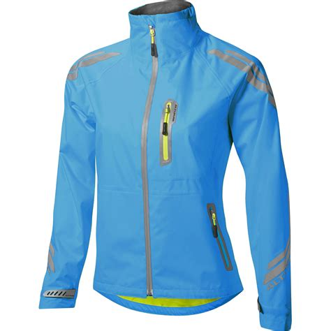 blue cycling jacket wiggle altura women s night vision evo waterproof jacket