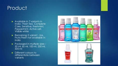 Listerine 250ml All Variant colgate plax brand extension analysis
