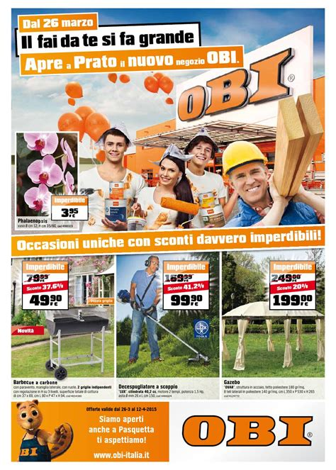 gazebi obi obi volantino 26marzo 12aprile2015 by catalogopromozioni