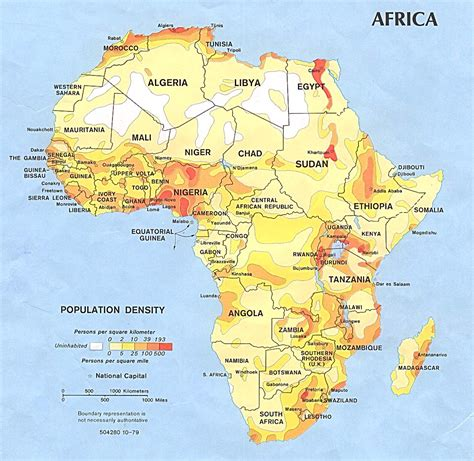 africa maps perry castaneda map collection ut library