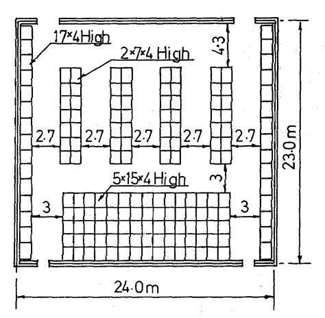 warehouse layout and design block stacking planning and engineering data 3 fish freezing 4
