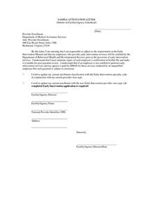 Attestation Letter To A Attestation Letter Format Best Template Collection