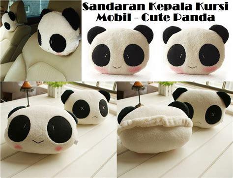 Boneka Bantal Nos Sandaran Kepala terjual bantal sandaran kepala kursi mobil panda kaskus