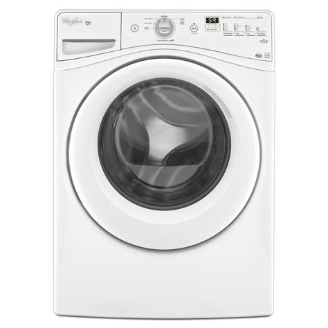 shop whirlpool duet 4 1 cu ft high efficiency front load washer white energy star at lowes com