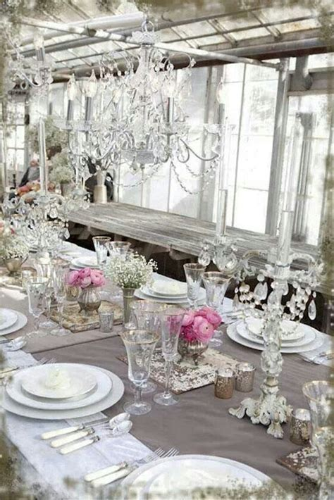 shabby chic tablescape shabby chic pretty pastels