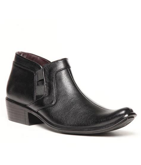 fuerza ankle length wear mens formal shoes black
