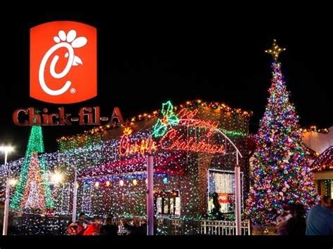 fil a christmas lights in ta best fil a christmas lights 2013 youtube