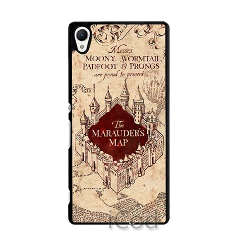 harry potter sony xperia c harry potter marauders map phone cover for sony