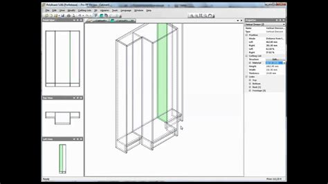 design  form furniture  polyboard cabinet