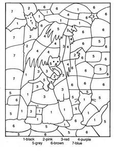 coloring pages with numbers color by numbers coloring home