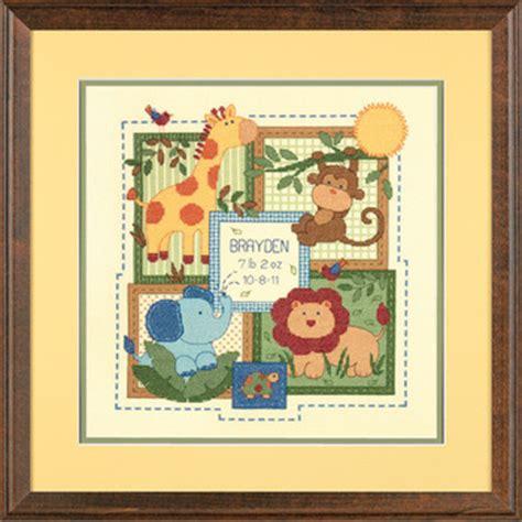 noah mills birth chart baby birth announcements cross stitch patterns kits