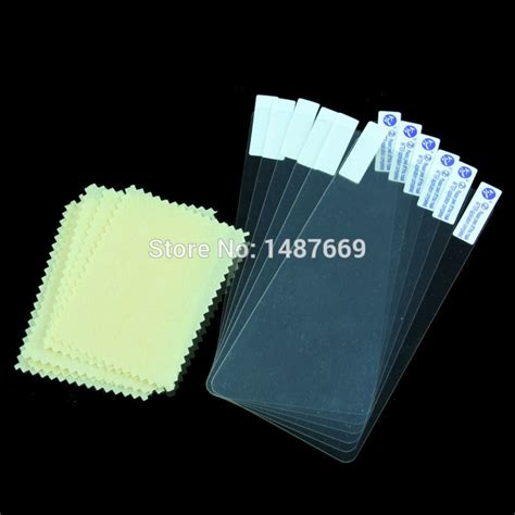 Lenovo P780 Mirror Screen Protector 2pcs lot lcd screen protector for lenovo p780 screen protective and cleaning cloth with