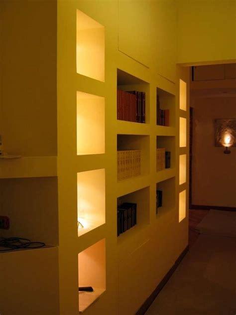 foto di librerie in cartongesso soluzioni per arredare il corridoio jpg