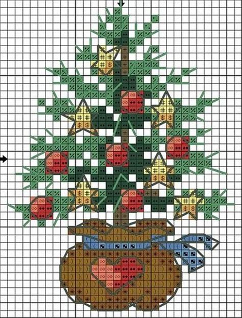 christmas tree needlepoint pattern 1283 best images about cross stitch christmas on
