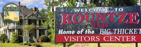 kountze chamber home of the big thicket