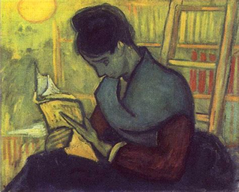 paint reader vincent van gogh a novel reader art painting 50 off